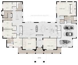 5 bedroom house plans floor plan friday u shaped 5 bedroom family home