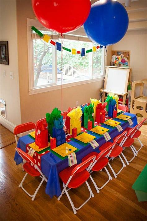 kids birthday party decorations home party ideas
