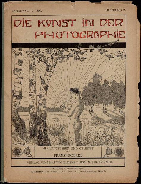 Die Kunst Der Putzfassade by Die Kunst In Der Photographie 1897 Photoseed