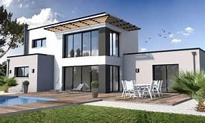 Best maison moderne aconstruire photos amazing house for Exceptional maison demi niveau plan 7 construction de la maison alsamaison