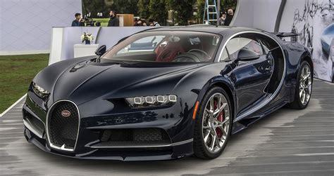 Ngắm Siêu Phẩm Bugatti Chiron Phiên Bản Ngoại Thất Full Carbon