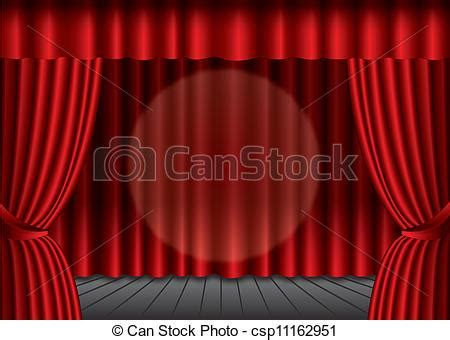 dessin rideau de theatre vecteur ferm 233 rouges th 233 226 tre rideau projecteur centre eps10 banque d illustrations