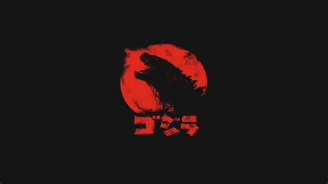 godzilla minimalism wallpapers hd desktop  mobile