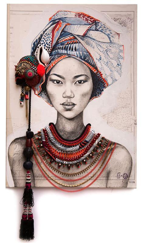 100 peinture visage femme moderne tableau portrait