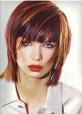 coiffure balayage roux