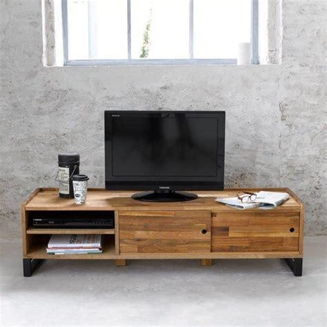 les 25 meilleures id 233 es de la cat 233 gorie meuble tv chene