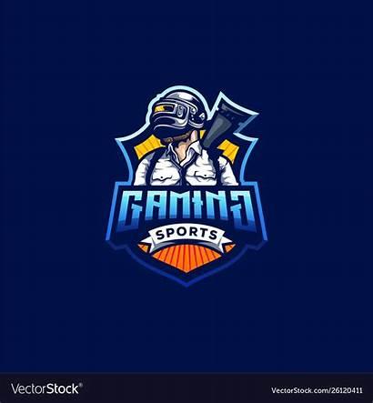 Pubg Gaming Gamer Mobile Mascot Template Vectors