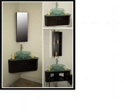 quot angolo quot corner wall mounted bathroom vanity set broward