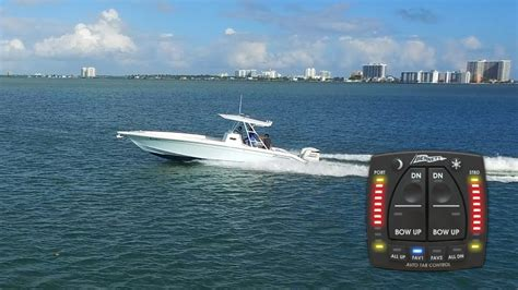 Boat Trim Tabs Explained by Autotrim Pro Like Cruise For Your Trim