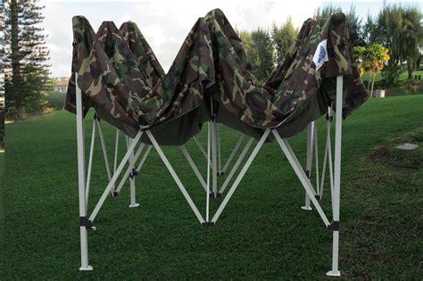 pop  canopy party tent gazebo ez camouflage