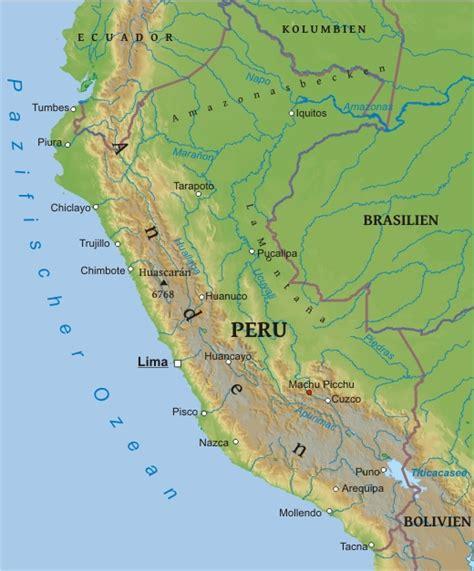 Karte von Peru – Karten21.com