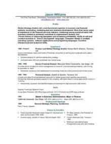Resume Templates Sle Resume 85 Free Sle Resumes By Easyjob Sle Resume Templates Easyjob