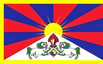 Flag Tibetan Tibet National Free4all Tibets Arizona