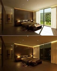Beleuchtung Für Schlafzimmer : indirekte beleuchtung led 75 ideen f r jeden wohnraum ~ Markanthonyermac.com Haus und Dekorationen