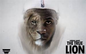 LeBron James 'The True Lion' Wallpaper by AMMSDesings on ...