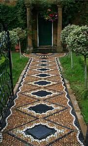creer le plus beau jardin avec le gravier pour allee With idee deco jardin avec cailloux 7 idee bordure jardin 50 propositions pour votre exterieur