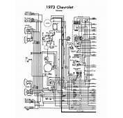Wiring Diagram 1973 Corvette  Chevy