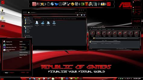 rog tweak theme clash of the titans 6 limited by