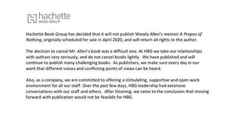 伍迪·艾伦自传出版计划被取消 性侵丑闻或使其职业生涯搁浅