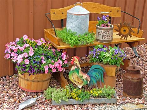 Stunning Low-budget Container Gardens
