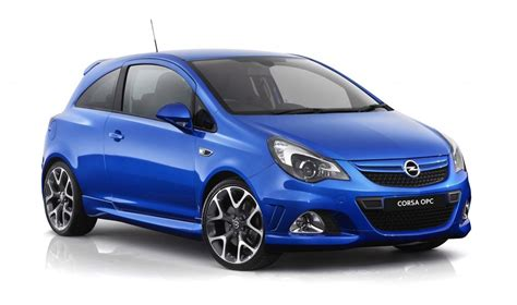 opel corsa  opc facelift hot hatch