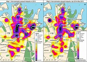 Maps show changing nature of violence in Sydney's CBD ...