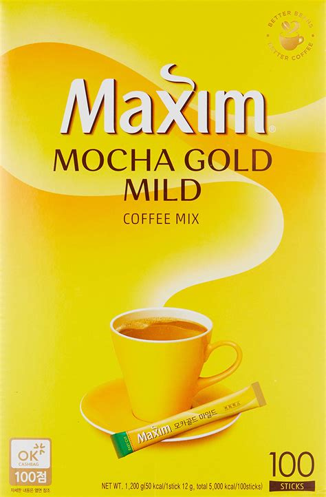 Be the first to review maxim arabica coffee mix (20 stick) cancel reply. Maxim Mocha Gold Mild Coffee Mix - 100pks- Buy Online in ...
