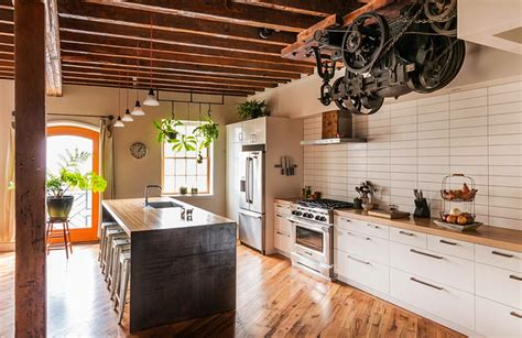Former Factory Turned Awesome Home by Former Pickle Factory Turned Into Eco Friendly Apartment