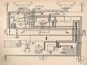 Wiring Diagram 1974 Vw Super Beetle