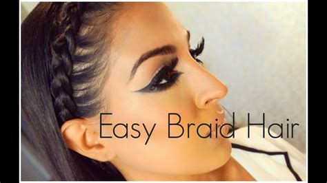 12 Quick And Easy Braided Hairstyles 2019