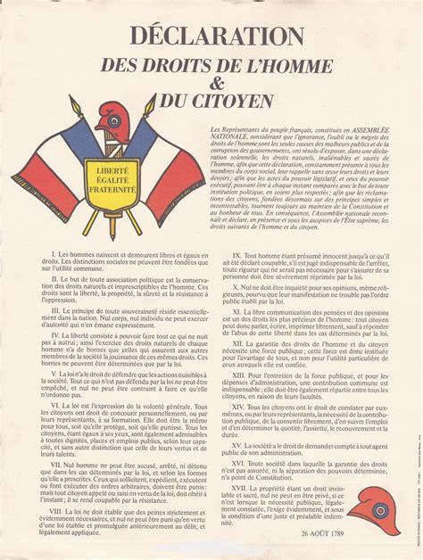 la d 233 claration des droits de l homme et du citoyen