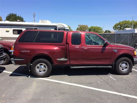 ford f 150flair sidecer leer shell snug top truck bed