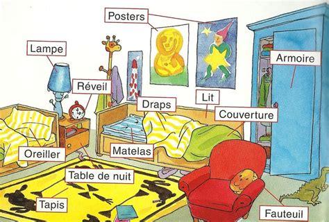 d o chambre b la chambre bedroom vocabulary in français
