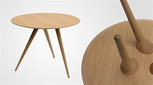 Beistelltisch Weiß Rund Holz : runder designer beistelltisch turn high von maigrau ~ Bigdaddyawards.com Haus und Dekorationen