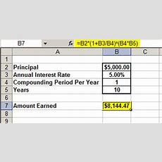 Compound Interest Calculator For Forex And Stock Traders