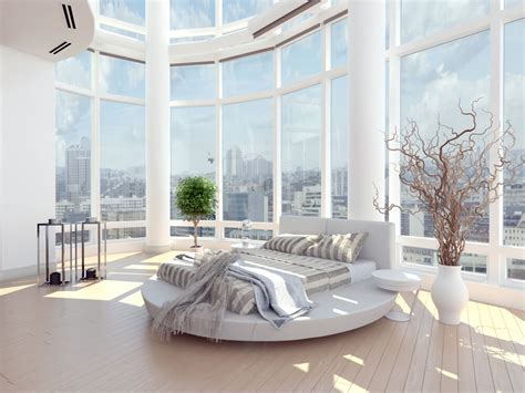 Lighting For Cathedral Ceilings by 61 Bright Amp Cheery White Bedroom Designs