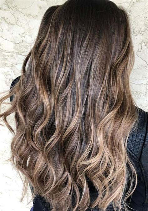 Brown Highlights On Brown Hair Ideas by 33 Awesome Chocolate Brown Hair Color Ideas With Balayage
