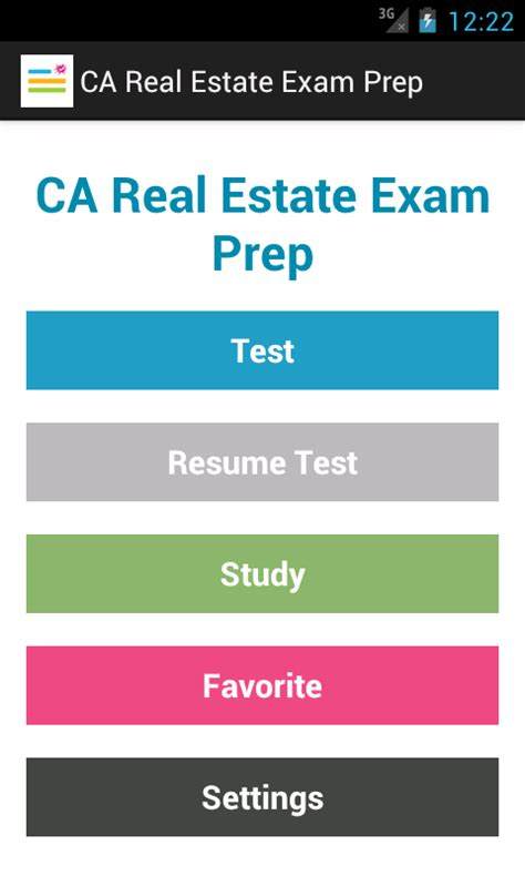 Ca Real Estate Exam Prep  Android Apps On Google Play