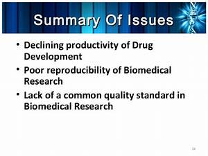 The Reproducibility Crises in Biomedical Research and its ...