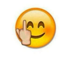 middle finger emoji iphone middle finger smiley clipart best