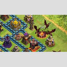 Check Out Clash Of Clans' New Level 5 Dragon In Action Gamezone