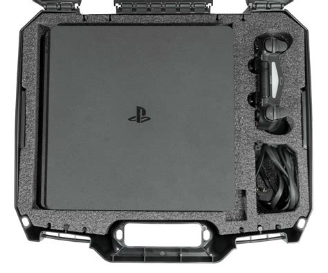 Playstation 4 Ps4 Slim Carry Case Gaming Console Cases