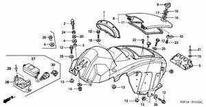 Honda Aquatrax Part  81311