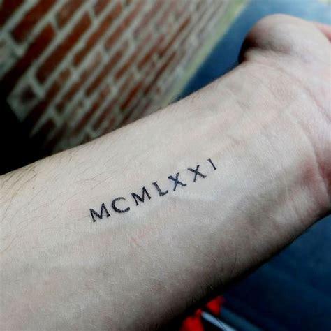 Les 25 Meilleures Idées Concernant Tatouages Chiffres