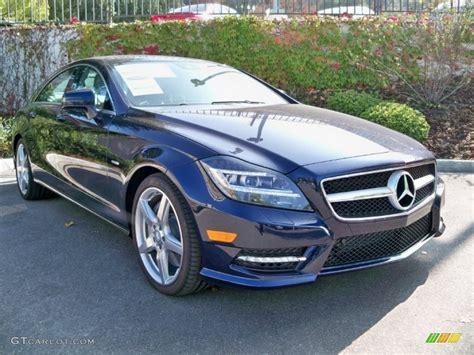 2012 Lunar Blue Metallic Mercedes-benz Cls 550 Coupe