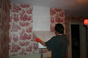 Home Wallpaper Removal Tips That Work (...DON'T Paint Over ...
