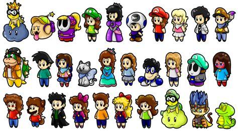 Cute Da Friends Characters By Superlakitu On Deviantart
