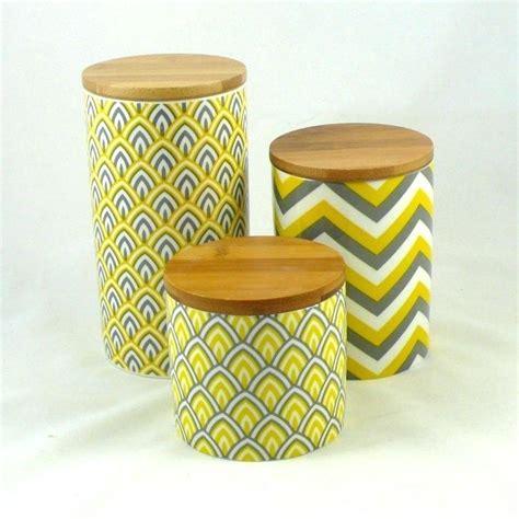 yellow storage jars kitchen yellow kitchen canisters tea coffee sugar jars flour 1699