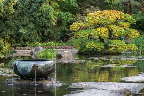 Japanischer Garten Im Herbst by Herbst Im Japanischen Garten