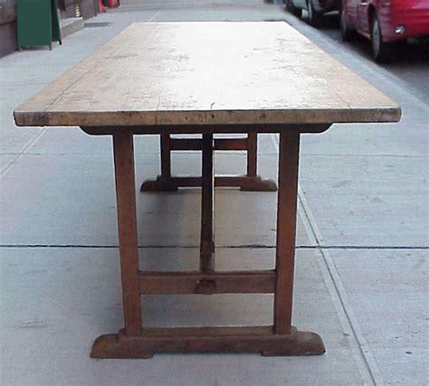 harvest dining tables for sale harvest trestle table for sale at 1stdibs